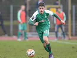 Werder-Talent Zander muss erneut pausieren