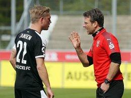 Jansen-Abgang: Halles Trainer Schmitt entsch�rft