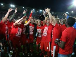 Halle verteidigt den Landespokal