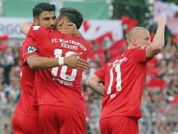 Soriano, Daghfous, Weil (Würzburger Kickers)