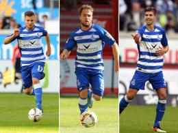 Drei f�r Liga 3 beim MSV