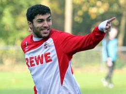 Adil Chihi beim Training
