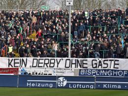Derby in M�nster mit VfL-Fans - Fortuna beim FCM