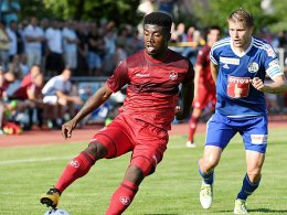 Kwadwo landet in Gro�aspach