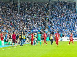 20.000 Euro und Teilausschluss: DFB bestraft Magdeburg