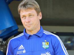 Chemnitz-Trainer Köhler setzt auf Kampf und Einsatz