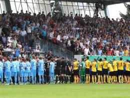 Benefizspiel Chemnitz gegen Dresden verschoben