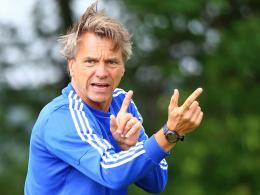 Chemnitz-Trainer Steffen sieht noch Arbeitsbedarf