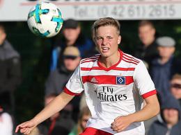 Unterhaching leiht HSV-Talent Porath aus