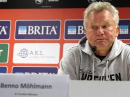 Möhlmann: Gegen Köln Taten sprechen lassen