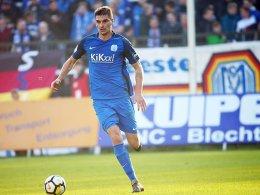 Bis 2020: Vidovic verlängert beim SV Meppen