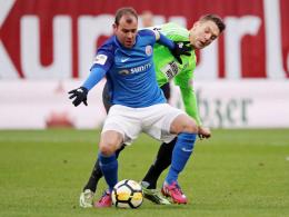 Rostock klettert weiter - Kein Sieger in Zwickau