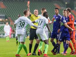 Bremens Schmidt muss drei Spiele zusehen