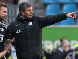 Bis 2019 - Magdeburg bindet Trainer Härtel