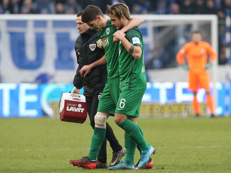 Liga, Spielbericht: SC Preußen Münster - FC Hansa Rostock 2:0