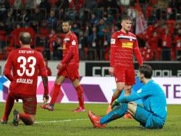 Nach Insolvenzantrag: Neun Punkte Abzug für Erfurt