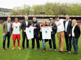 Köln läuft gegen Münster mit Sondertrikots auf