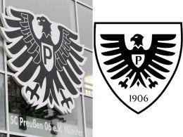 Preußen Münster zieht neues Logo zurück