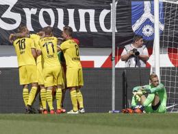 VfL in Gelb-Schwarz zum Derbysieg