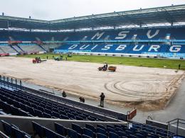 Duisburg: Neuer Rasen und zwei Rückkehrer