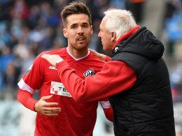 Welzmüller fordert mutigen Auftritt in Rostock