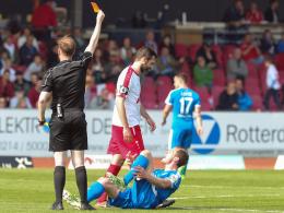 Kölns Andersen: Dreimal gegen Lotte, dreimal Rot