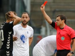 Zwei Spiele Sperre: Zapel hadert mit Rösers Platzverweis