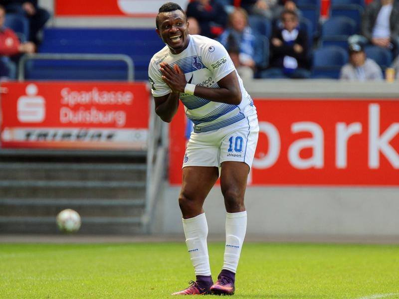 Onuegbu bleibt: MSV verlängert Vertrag mit Stürmer