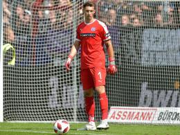 Muskelfaserriss zwingt VfL-Keeper Körber zur Pause