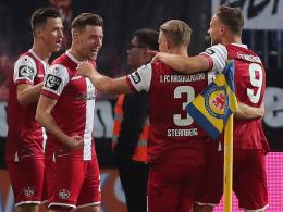 FCK gelingt Befreiungsschlag - Würzburg an der Spitze