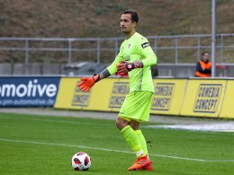 Rückkehr in Sicht: FCK-Keeper Sievers trainiert wieder