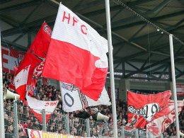Wegen Pyrotechnik: Geldstrafe für den Halleschen FC