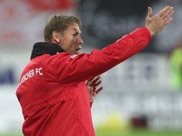 Halle-Coach Sven Köhler
