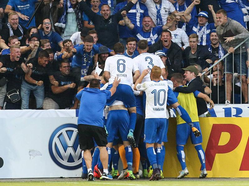 Aufstieg perfekt: 1. FC Magdeburg wird der 126. Zweitligist