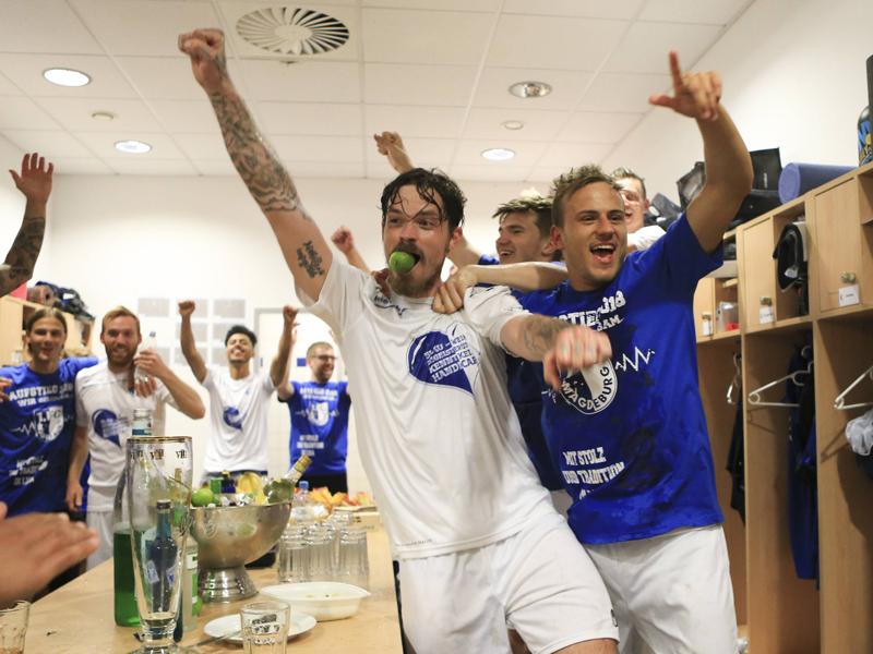 Auf ins Unterhaus! Paderborn und Magdeburg feiern Aufstiegspartys
