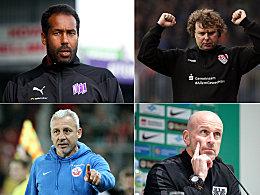 Von Thioune bis Dotchev: Die Trainer der 3. Liga