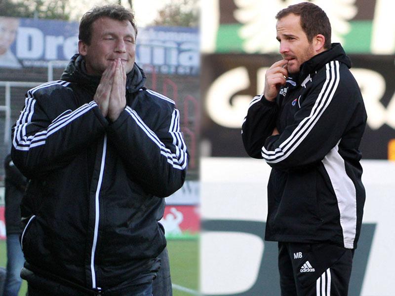 Claus Schromm (li.) und Manuel Baum