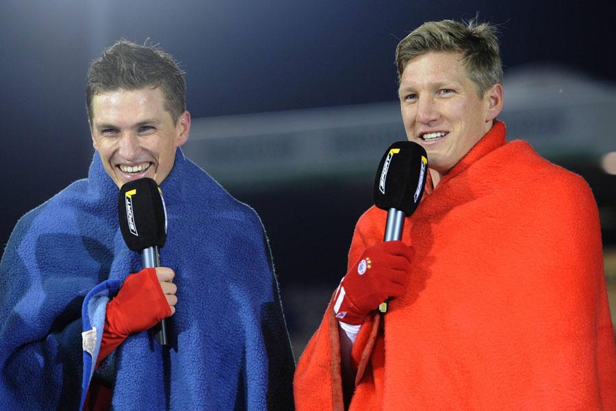Tobias Schweinsteiger (li.) mit seinem Bruder Bastian Schweinsteiger