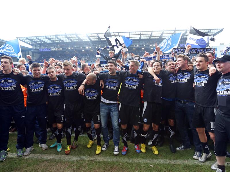 Die Mannschaft von Arminia Bielefeld