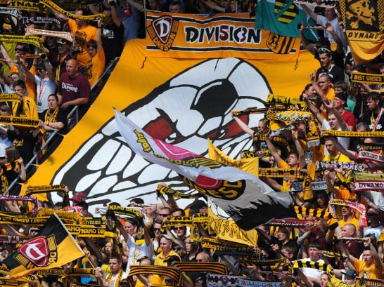 Die Dresdner Fans