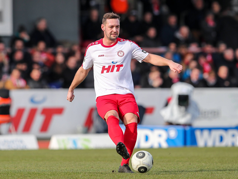 Rekordspieler in Liga 3: Danneberg bleibt Erster