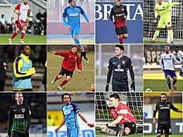 Die wichtigsten Wintertransfers in der 3. Liga