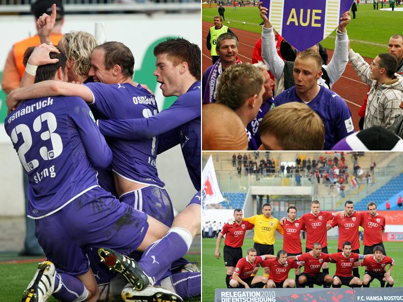 Wie viele Punkte reichten bislang für die 2. Bundesliga?