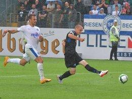 Dank Michel: Paderborn siegt in Lotte