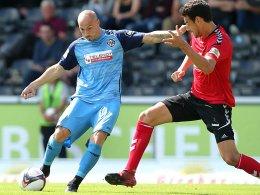 0:0 - Keine Treffer im Schwaben-Derby