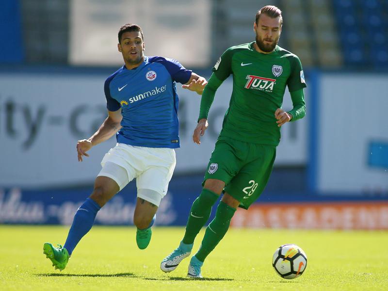 Hansa Rostock - Preußen Münster 1:1, 3. Liga, Saison 2017 ...
