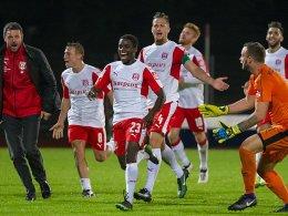 Manus Joker-Tor lässt Halleschen FC feiern