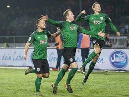 Scherders Volley reicht Preußen zum Sieg