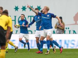 Dreimal Hilßner! Rostock dreht ein 0:2