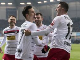 Zweimal Rot für den SCP - Bergmann lässt Erfurt jubeln